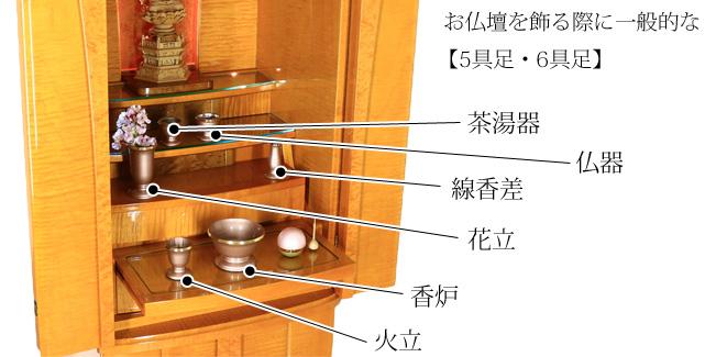 曹洞宗 仏壇 飾り方