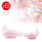 桜色のかわいいガラス仏具の画像